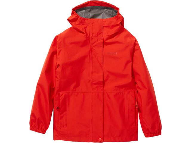 Marmot Lightray Jacke Kinder victory red